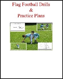 flag football drills and practice plans